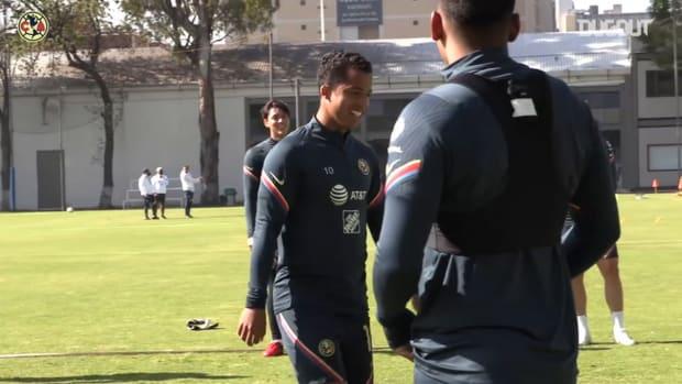 Club América's begin preparations for their game vs León