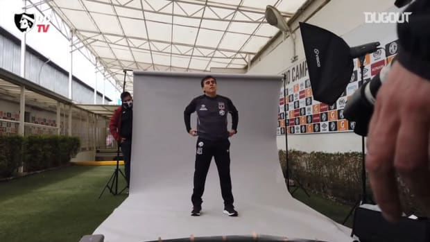 Gustavo Quintero's first day at Colo-Colo