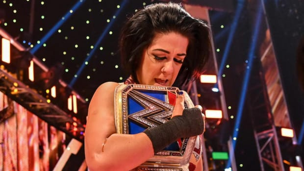 WWE's Bayley holds the SmackDown women's championship