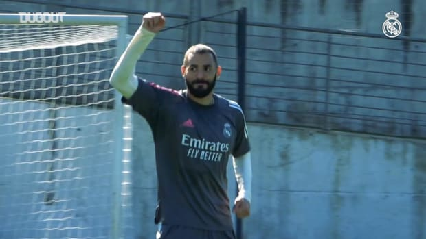 Goals and saves in training