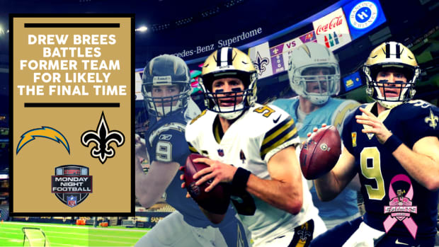 Brees vs. Chargers