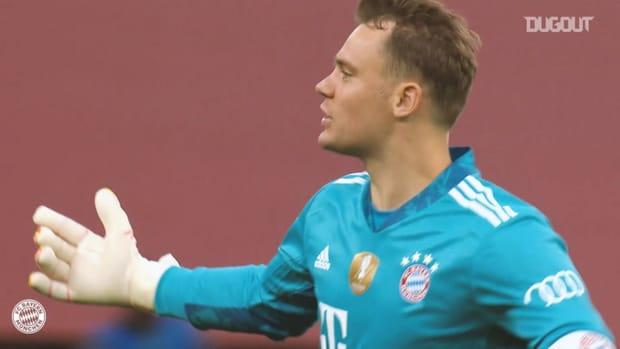 Manuel Neuer's biggest saves in 2020 finals