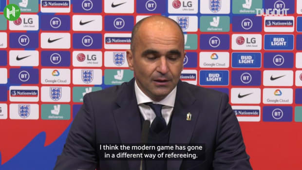 Roberto Martínez: VAR has changed the refereeing level