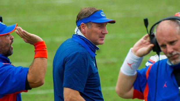 Florida football coach Dan Mullen