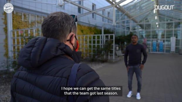 Douglas Costa on his return to FC Bayern