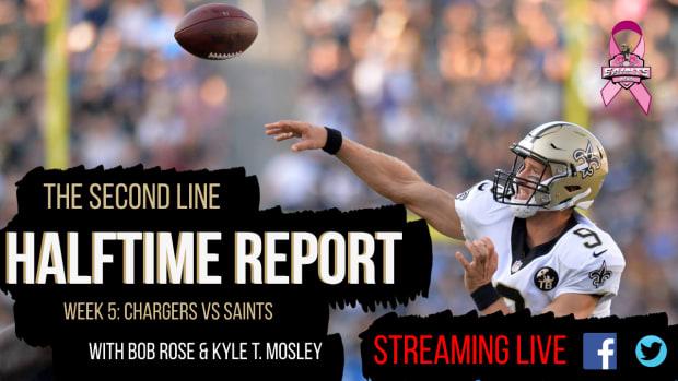 Second Line Halftime Report Week 5