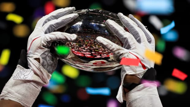 Big Ten Silver Football Trophy