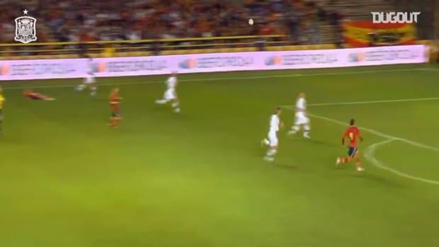 When Rodrigo scored Spain's fastest hat-trick