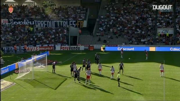 Nene's first goal at Monaco