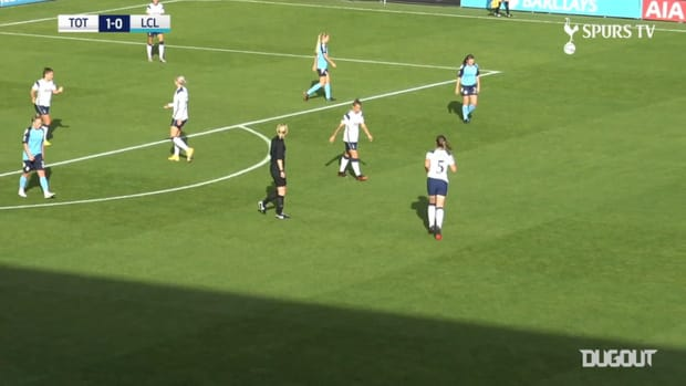 Ria Percival and Alanna Kennedy on target in Spurs win over London City