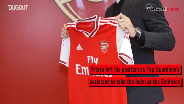 Mikel Arteta's instant trophy success at Arsenal