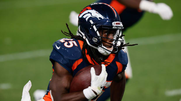 Broncos RB Melvin Gordon was charged with DUI on Tuesday night in Denver.