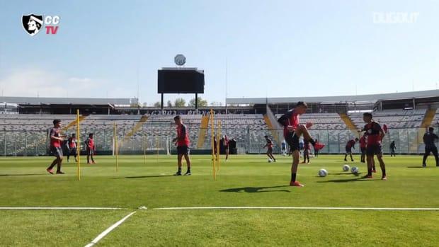 Colo-Colo prepare for their game vs Unión Española