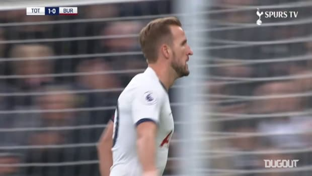 Harry Kane's long-range goal vs Burnley