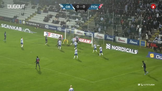 Mabil blasts home after slick build-up play vs OB