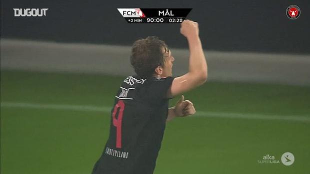 Morten Rasmussen heads home dramatic late winner against OB