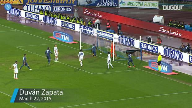 Napoli's top three goals at home to Atalanta