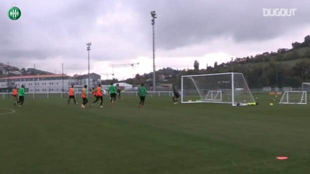 Bouanga's incredible goal at training session