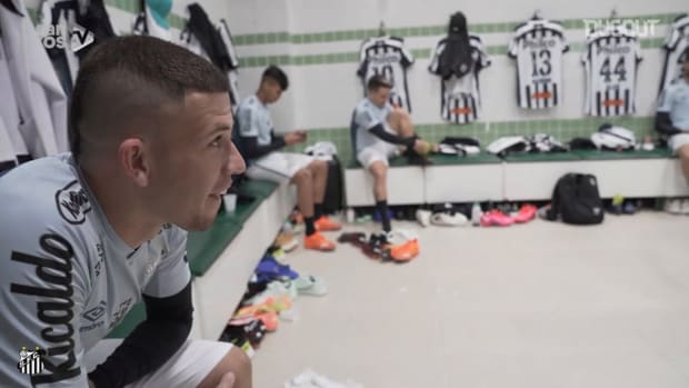 Behind the scenes of Santos' away victory over Coritiba