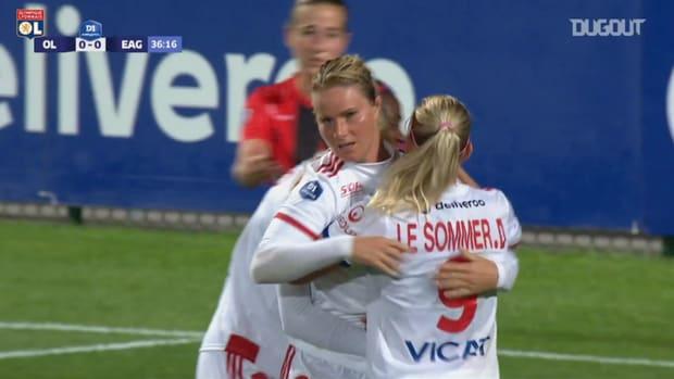 OL Women's great win vs Guingamp