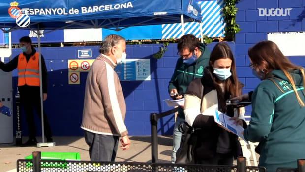 Fans return to RCD Espanyol B games