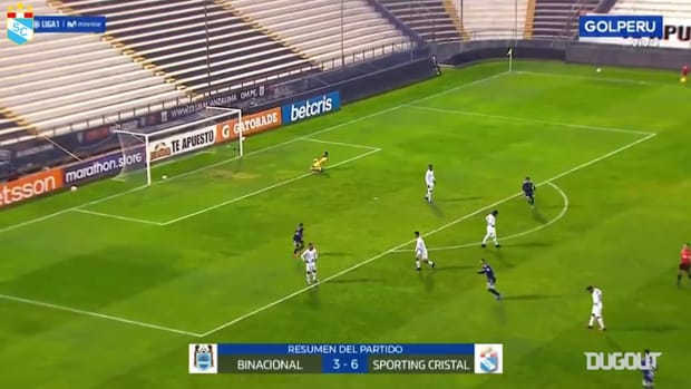Emanuel Herrera's hat-trick against Binacional