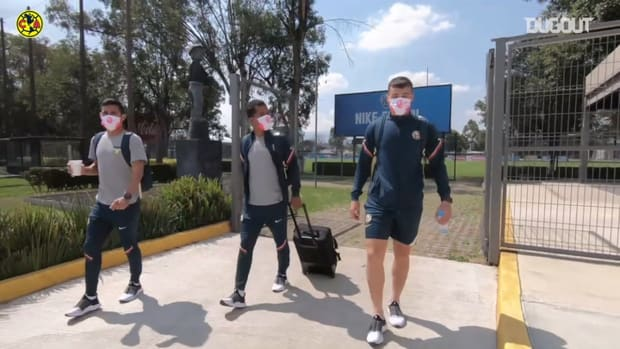Club América, ready for their game against León