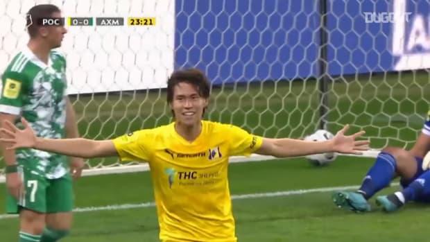 Hashimoto scores fifth goal of the season for Rostov