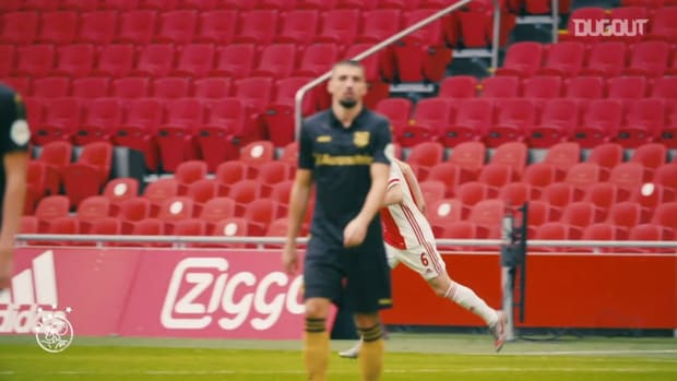 Pitchside view: Davy Klaassen's second debut for Ajax