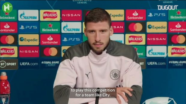 Ruben Dias: 'Champions League was key factor in joining Man City'