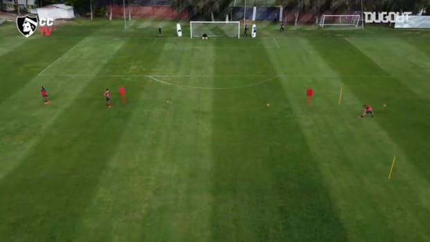 Colo-Colo prepare for their Libertadores fixture against Wilstermann