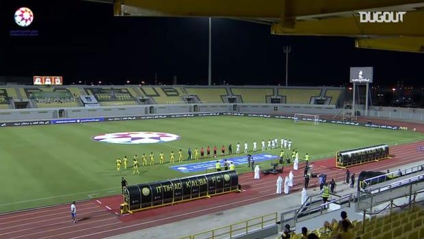 Highlights: Al-Ittihad Kalba 0-3 Shabab Al-Ahli