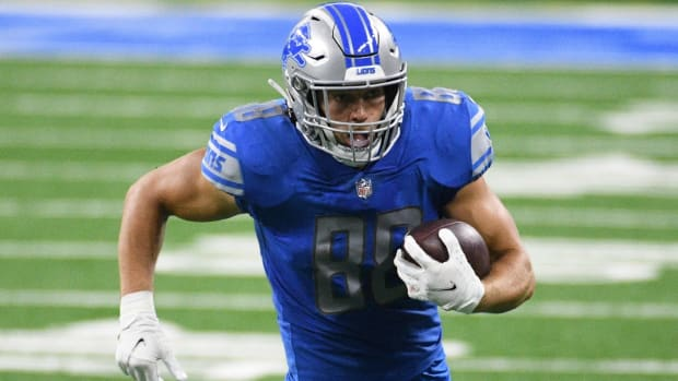Lions T.J. Hockenson Fantasy Football