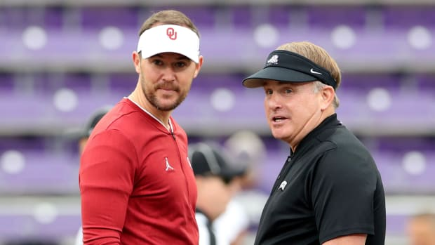 Lincoln Riley-Gary Patterson