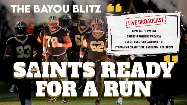 Bayou Blitz - Saints Ready for a Run