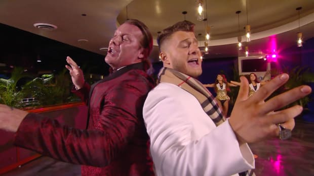 Chris Jericho and MJF perform a musical number on AEW Dynamite