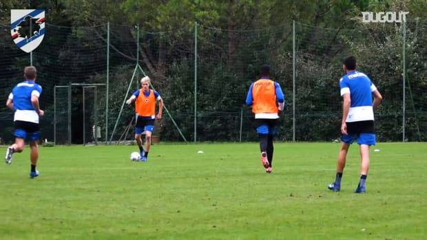 Sampdoria prepare to face Atalanta