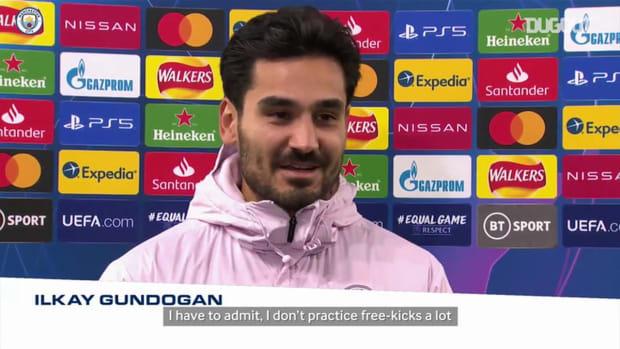 Gündoğan: I don't practice free-kicks that much