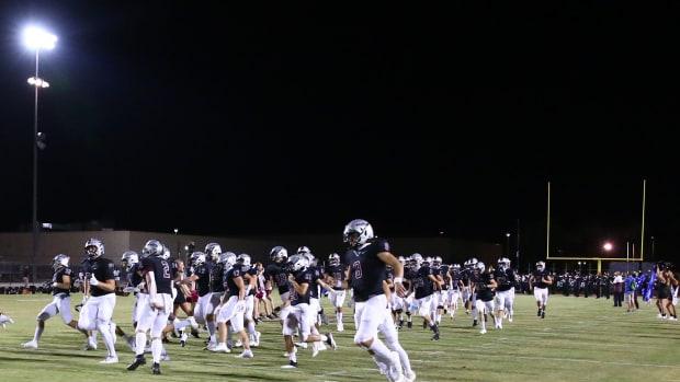 High-School-Football-Entrance-Night