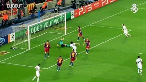 Real Madrid players know how to score against FC Barcelona