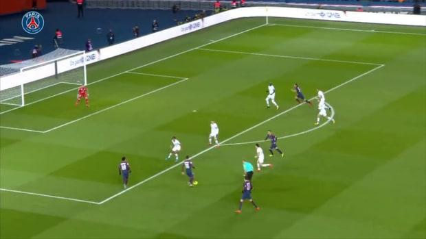 Paris Saint-Germain's eight goals vs Dijon in the 2017-18 season