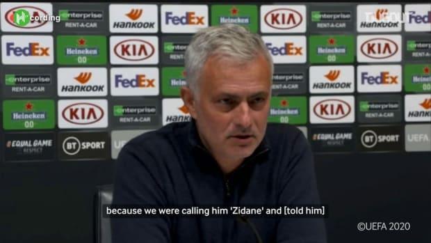 Mourinho told Hojbjerg not to perform 'Zidane turn' again