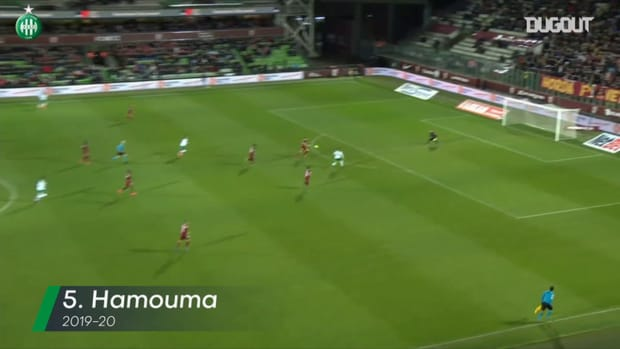 Saint-Etienne's top five goals vs Metz