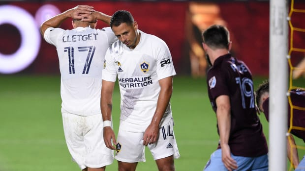 Chicharito has struggled with the LA Galaxy