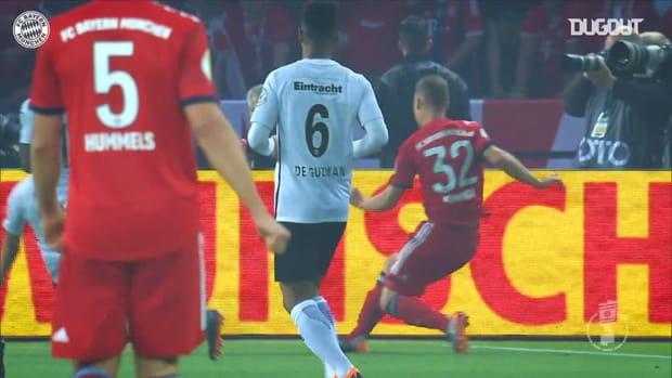 Lewandowski's best goals against Frankfurt