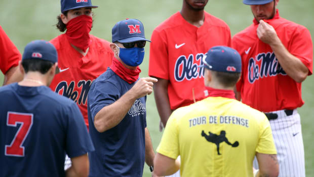 Ole Miss Baseball Scrimmage in Oxford-University Stadium/ Swayze Field in Oxford, MS, on Saturday, Sept. 19, 2020.Photo by Petre Thomas/Ole Miss Athletics