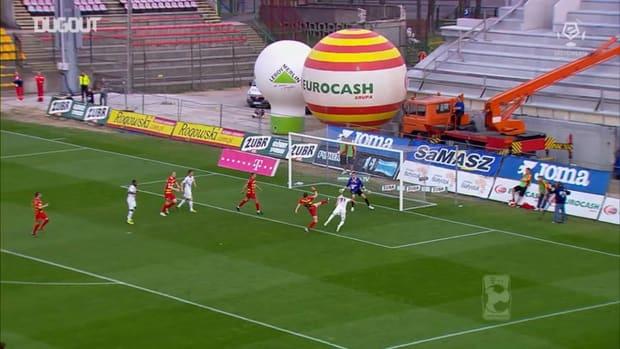 Arkadiusz Milik's top five goals in the Ekstraklasa