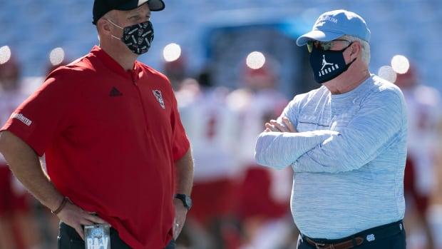 prregame both coaches
