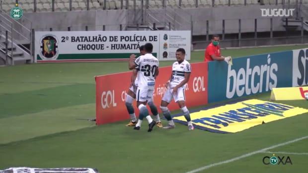 Rodrigo Muniz scores for Coritiba at Castelão