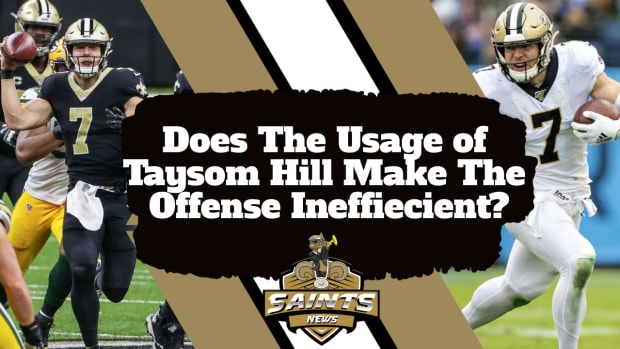 Taysom Hill Effects On Offense